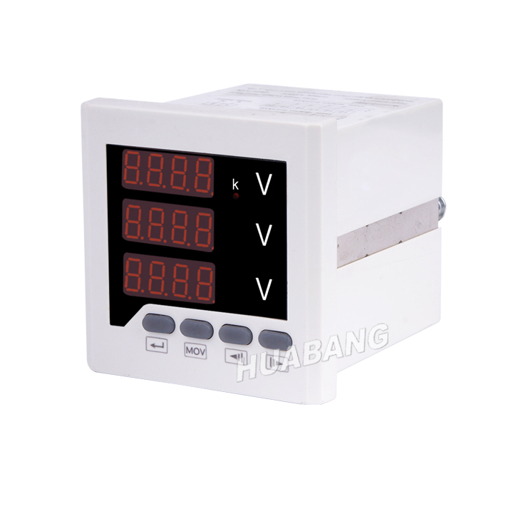 Three Phase Voltage Digital Panel Meter -1