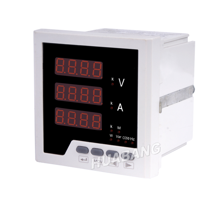 Three Phase LED Multi Function Panel Meter -1
