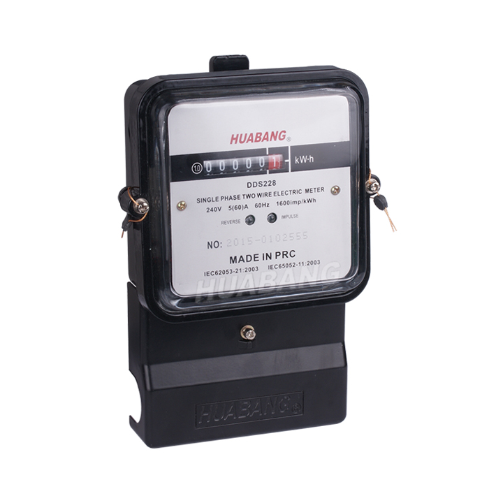 Aluminum Single Phase Watt Hour Meter-1