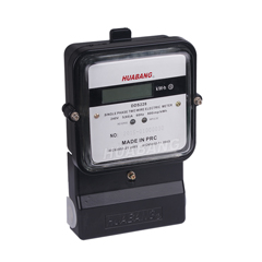 Steel Terminal 1 Phase 2 Wire kwh Meter -1
