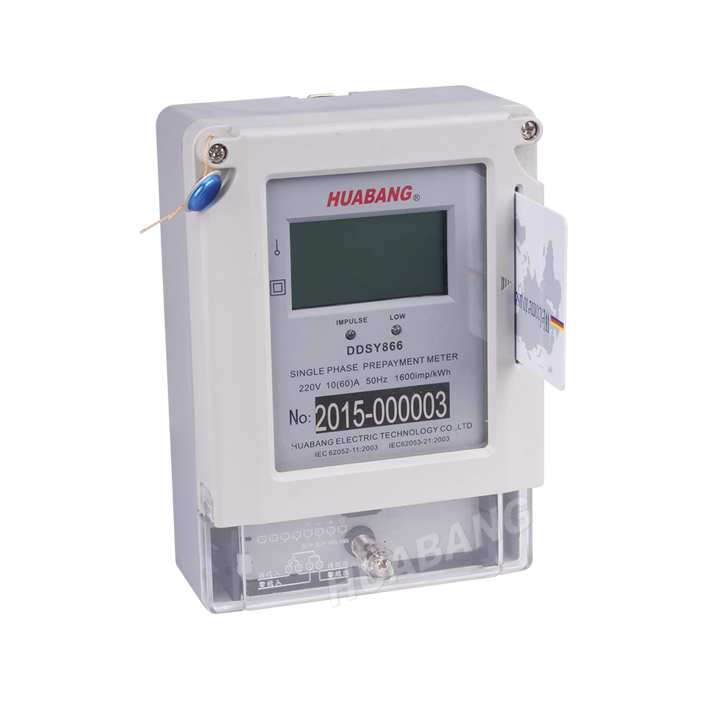 Single Phase IC Card Electricity Meter-1