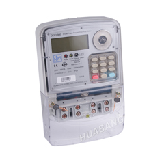 Single Phase STS Keypad Prepaid Energy Meter-1