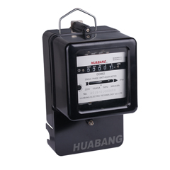 Single Phase Mechanical Kwh Meter-1