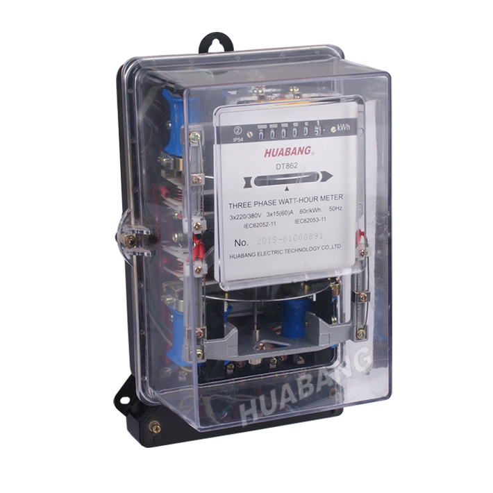 Three Phase Mechanical Kwh Meter-1