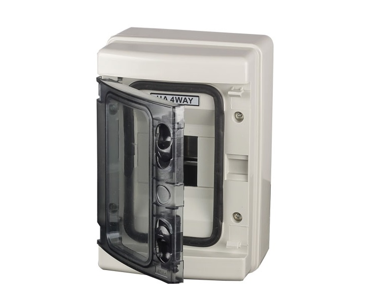 IP65 Water Proof Din Rail 4WAY Meter Box-3