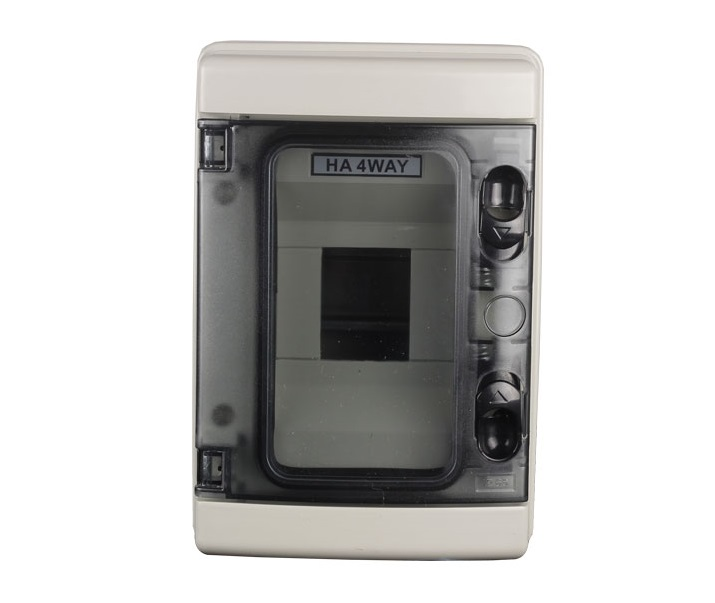 IP65 Water Proof Din Rail 4WAY Meter Box-1