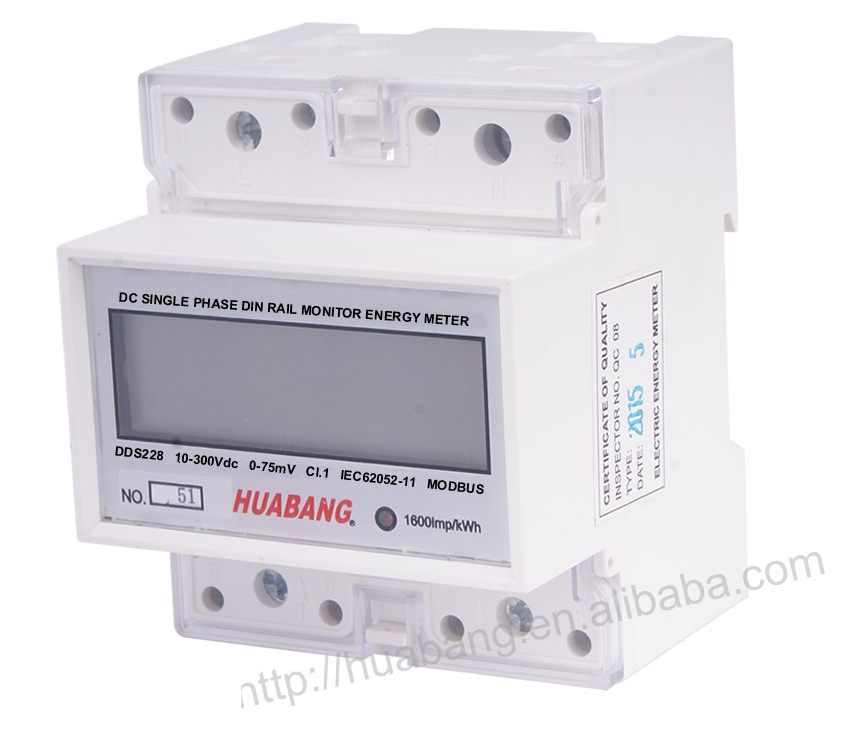 DC Single Phase Energy Meter -1